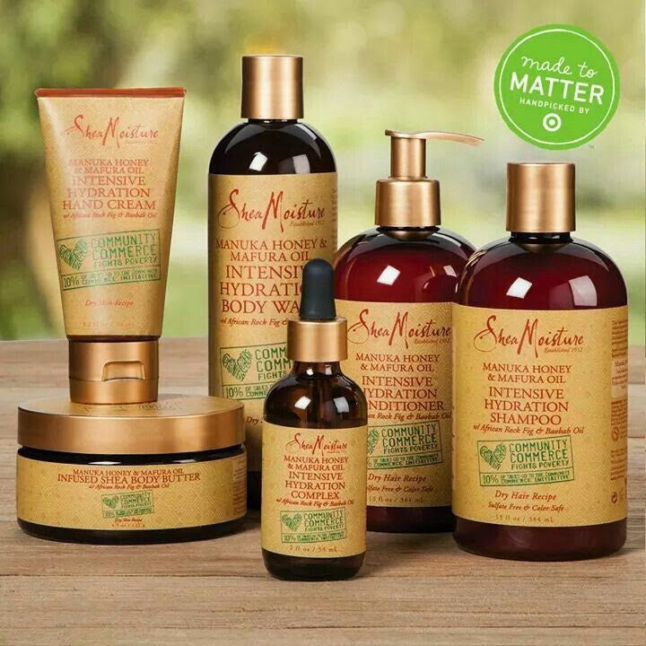NEW: Shea Moisture Manuka Honey & Mafura Oil line!