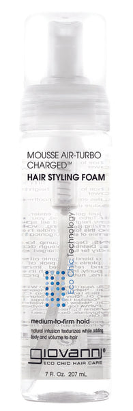 Giovanni - MOUSSE AIR-TURBO CHARGED™ HAIR STYLING FOAM - Afroshoppe.ch