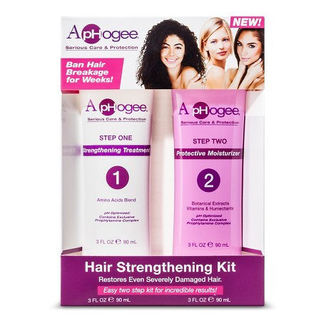 ApHogee - Hair Strengthening Kit - Afroshoppe.ch