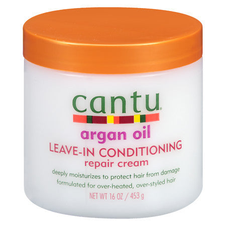 Cantu Shea Butter - Argan Oil - Leave-In Conditioning Repair Cream