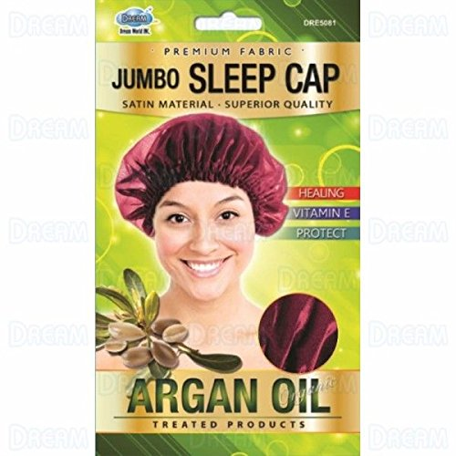 Dream - ARGAN OIL JUMBO SLEEP CAP - Afroshoppe.ch