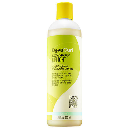 DevaCurl - Low-Poo DELIGHT Weightless Waves Mild Lather Cleanser - Afroshoppe.ch