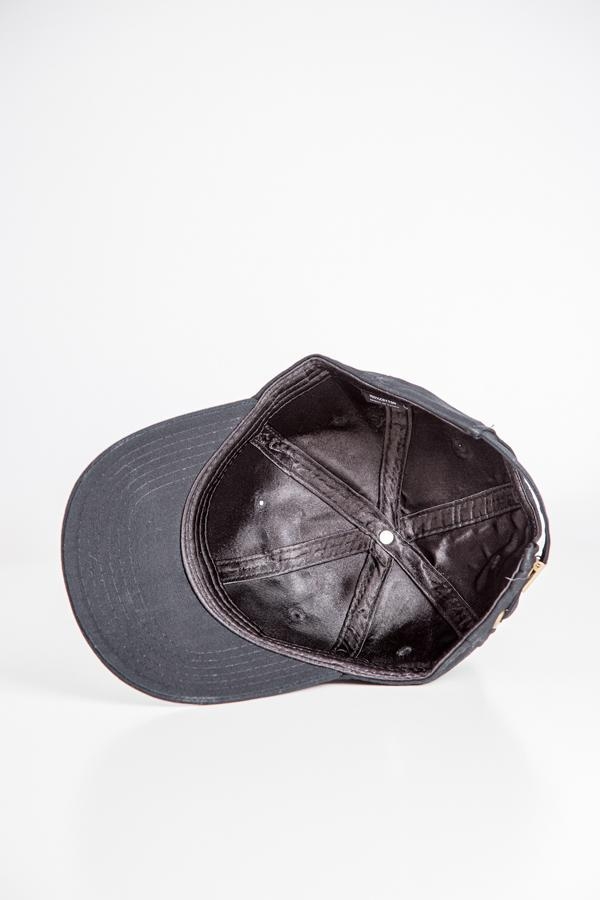 Grace Eleyae - Black Satin-Lined Baseball Hat