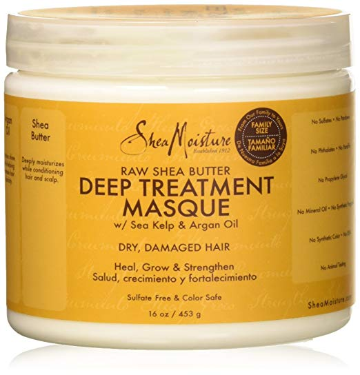 Shea Moisture - Raw Shea Butter - Deep Treatment Masque w/ Sea Kelp & Argan Oil