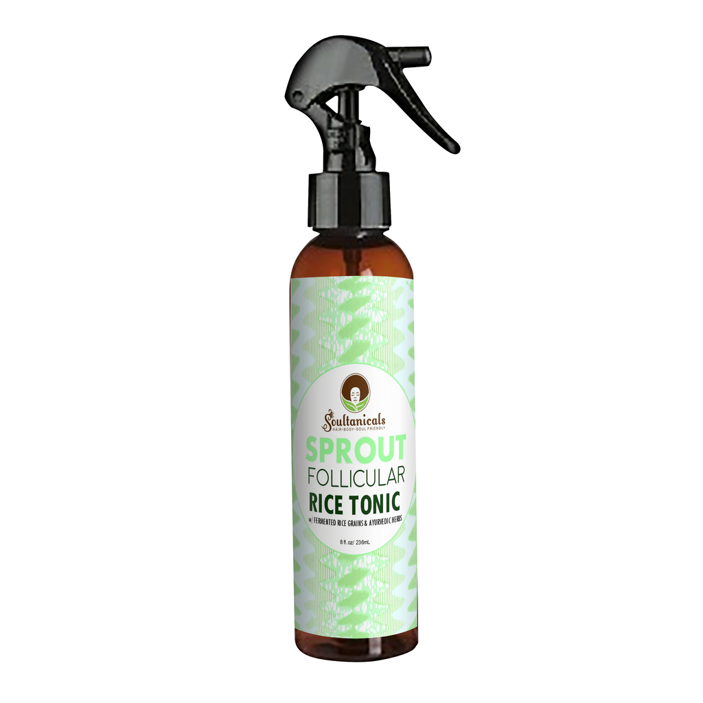 Soultanicals - SPROUT- FOLLICULAR RICE TONIC - Afroshoppe.ch