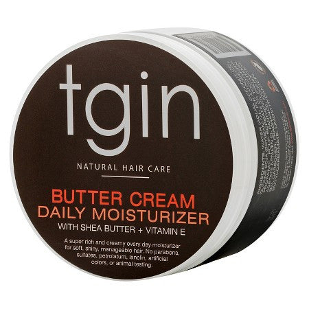 TGIN -- Butter Cream Daily Moisturizer with Shea Butter + Vitamin E - Afroshoppe.ch