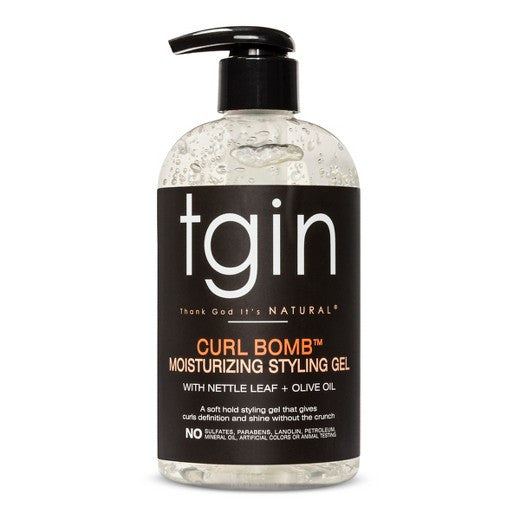 TGIN - Curl Bomb Moisturizing Styling Gel with Nettle Leaf + Olive Oil - Afroshoppe.ch