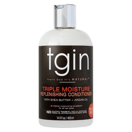 TGIN -- Moisture Replenishing Conditioner with Shea Butter & Argan OIl - Afroshoppe.ch