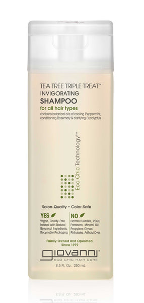 Giovanni - Tea Tree Triple Treat Invigorating Shampoo - Afroshoppe.ch