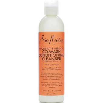 Shea Moisture - Coconut & Hibiscus - Co-Wash Conditioning Cleanser w/ Silk Protein & Neem Oil - Afroshoppe.ch