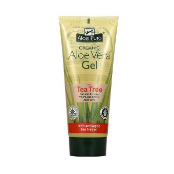 Aloe Pura - Organic Aloe Vera Gel with Tea Tree