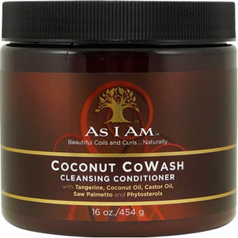 As I Am - Coconut CoWash Cleansing Conditioner with Tangerine, Coconut Oil, Castor Oil, Saw Palmetto and Phytosterols