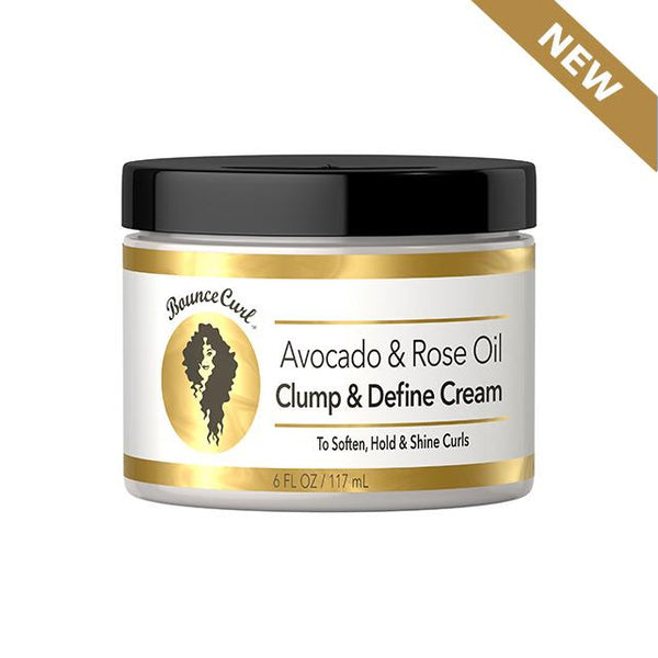 Bounce Curl Avocado & Rose Oil Clump & Define Cream