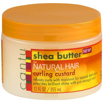 Cantu Shea Butter - for Natural Hair - Curling Custard - Afroshoppe.ch