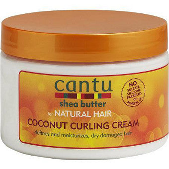 Cantu Shea Butter - for Natural Hair - Coconut Curling Cream - Afroshoppe.ch