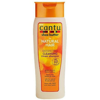 Cantu Shea Butter - For Natural Hair - Sulfate-Free Cleansing Cream Shampoo