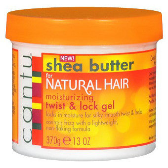 Cantu Shea Butter - For Natural Hair - Moisturizing Twist & Lock Gel - Afroshoppe.ch