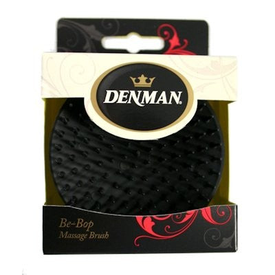 Denman - D6 Black - Be-Bop Massage Brush - Afroshoppe.ch