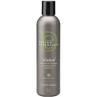 Design Essentials - Natural Almond and Avocado Detangling Leave-In Conditioner - Afroshoppe.ch