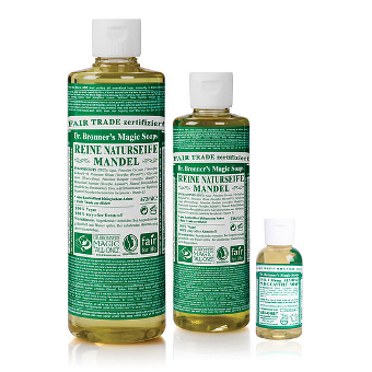 Dr. Bronner's - 18-IN-1 - HEMP ALMOND  - Pure-Castile Soap