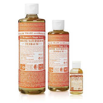 Dr. Bronner's - 18-IN-1 - HEMP TEA TREE  - Pure-Castile Soap - Afroshoppe.ch