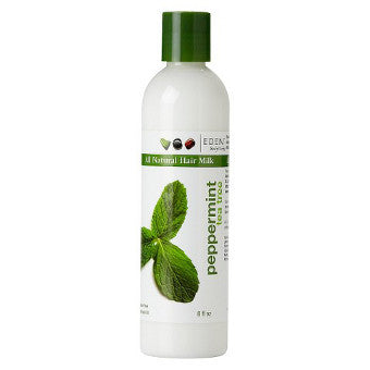 Eden BodyWorks - All Natural PEPPERMINT TEA TREE HAIR MILK - Afroshoppe.ch