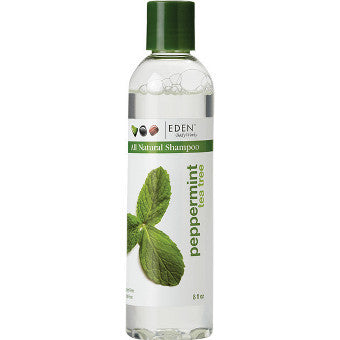 Eden BodyWorks - All Natural PEPPERMINT TEA TREE SHAMPOO