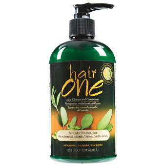 Hair One - Cleanser Conditioner for Color Treated Hair with Jojoba Oil