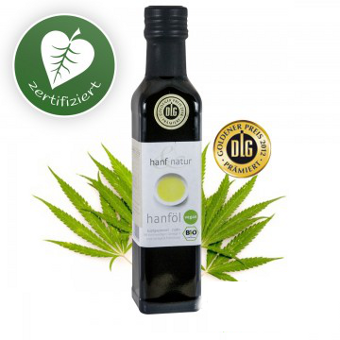 Hanf Natur - Organic Raw Hemp Oil