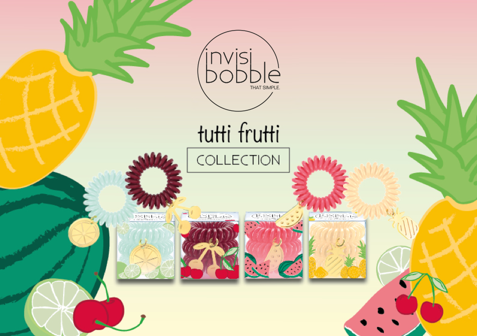 Invisibobble - Tutti Frutti Limited Collection - Afroshoppe.ch cc754838c50