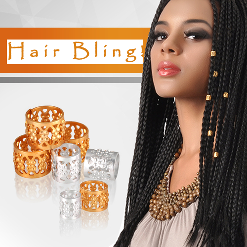 Dreadlock / Braiding Metal Cuffs