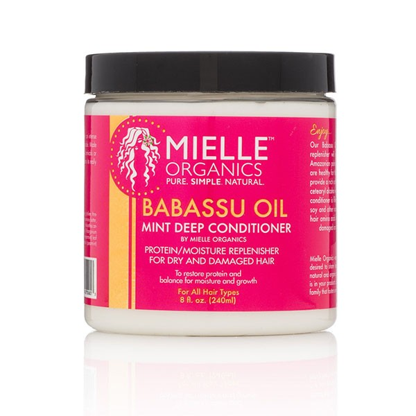 Mielle Organics - Babassu Oil - Mint Deep Conditioner - Afroshoppe.ch
