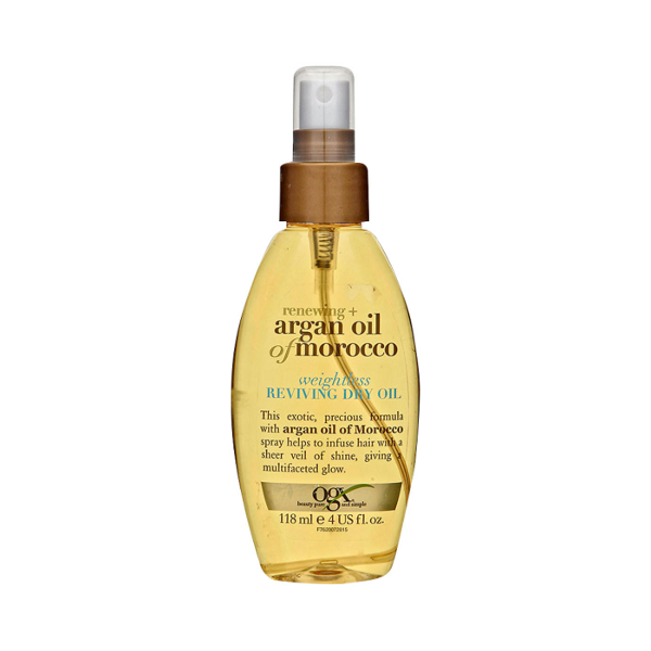 OGX - Renewing Argan Oil of Morocco - Weightless Dry Oil - Afroshoppe.ch