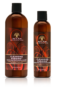 As I Am - CLEANSING PUDDING - Sulfate-Free Moisturizing Cleanser - Afroshoppe.ch