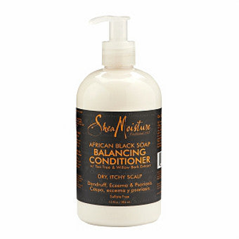 Shea Moisture - African Black Soap - Balancing Conditioner w/ Tea Tree & Willow Bark Extract