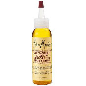 Shea Moisture - Jamaican Black Castor Oil - Strengthen, Grow & Restore Hair Serum w/ Shea Butter & Rosemary Oil