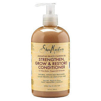 Shea Moisture - Jamaican Black Castor Oil - Strengthen, Grow & Restore Conditioner w/ Shea Butter & Apple Cider Vinegar - Afroshoppe.ch