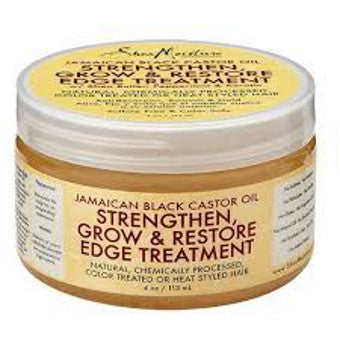 Shea Moisture - Jamaican Black Castor Oil - Strengthen, Grow & Restore Edge Treatment w/ Shea Butter, Peppermint & Keratin
