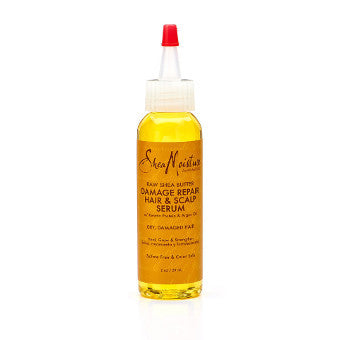 Shea Moisture - Raw Shea Butter - Damage Repair Hair & Scalp Serum w/ Sea Kelp & Argan Oil - Afroshoppe.ch