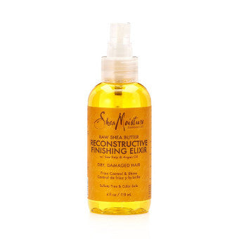 Shea Moisture - Raw Shea Butter - Reconstructive Finishing Elixir w/ Sea Kelp & Argan Oil