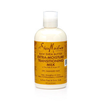Shea Moisture - Raw Shea Butter - Extra Moisture Transitioning Milk w/ Sea Kelp & Argan Oil - Afroshoppe.ch