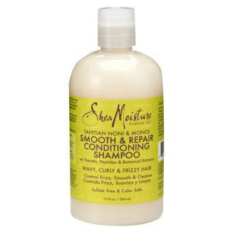 Shea Moisture - Tahitian Noni & Monoi - Smooth & Repair Conditioning Shampoo - Afroshoppe.ch