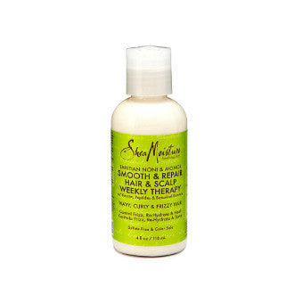 Shea Moisture - Tahitian Noni & Monoi - Smooth & Repair Hair & Scalp Weekly Therapy w/ Keratin, Peptides & Botanical Extracts - Afroshoppe.ch