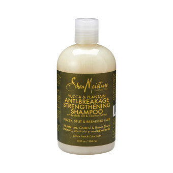 Shea Moisture - Yucca & Plantain - Anti-Breakage Strengthening Shampoo w/ Baobab Oil & Cilantro Extract