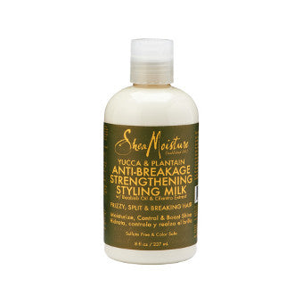 Shea Moisture - Yucca & Plantain - Anti-Breakage Strengthening Styling Milk w/ Baobab Oil & Cilantro Extract