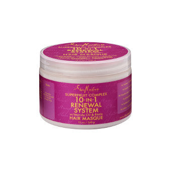 Shea Moisture - Super Fruit Complex - 10-IN-1 Renewal System Hair Masque w/ Marula Oil & Biotin - Afroshoppe.ch