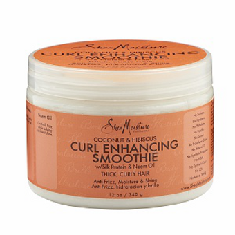 Shea Moisture - Coconut & Hibiscus - Curl Enhancing Smoothie w/ Silk Protein & Neem Oil