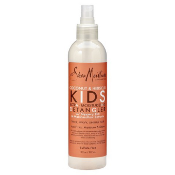 Shea Moisture - Coconut & Hibiscus - KIDS Extra - Moisture Detangler w/ Slippery Elm & Marshmallow Extracts - Afroshoppe.ch