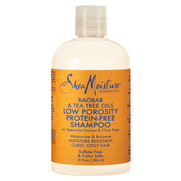 Shea Moisture - BAOBAB & TEA TREE OILS LOW POROSITY PROTEIN-FREE SHAMPOO