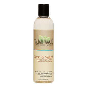 Taliah Waajid -- Curls, Waves & Naturals -- Clean & Natural Herbal Hair Wash